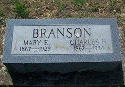 Mary E. <i>Lemons</i> Branson