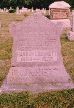 Hannah Louise <i>Conyers</i> Burnett