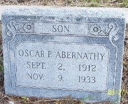 Oscar Pearson Abernathy