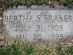 Bertha S Fraker
