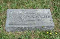 Lou Ann <i>Dixon</i> Burgess