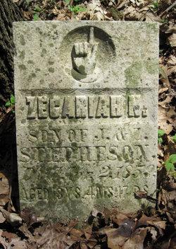Zecariah N Stepheson