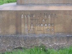 Annie J. <i>Hall</i> Moore