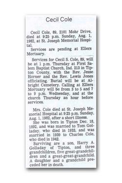 Cecil Cole