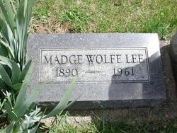 Madge Wolfe Lee
