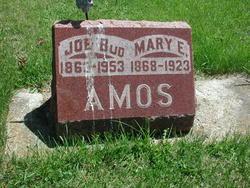 Mary E <i>Caster</i> Amos