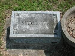 Mable <i>Cobb</i> Lee