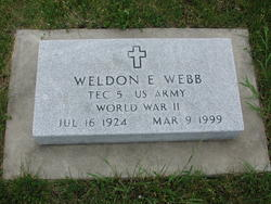 Weldon E Webb