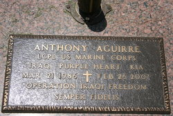 LCpl Anthony Aguirre