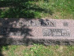 Mary Elizabeth <i>Cornell</i> Whitton