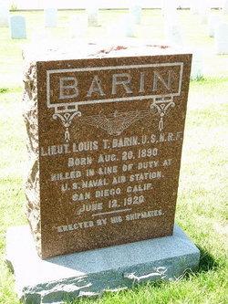 Lieut Louis T. Barin