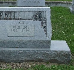 Ollie <i>Ebey</i> Campbell