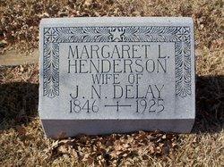 Margaret L. <i>Henderson</i> DeLay