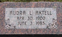 Audra Luceal <i>Goltry</i> Axtell