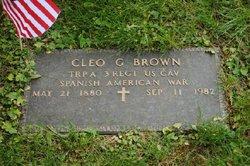 Cleo G. Brown