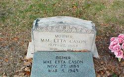 Mary Etta Mae <i>Prevatt</i> Cason