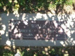 Clara Gertrude <i>Brunk</i> Wallis
