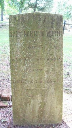 Mary Martitia Worth