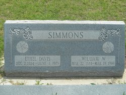 Ethel <i>Davis</i> Simmons