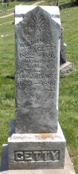Ann J Getty