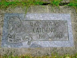 Alice G. Peggy <i>Harrington</i> Catching