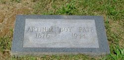 Arthur Boy Pate