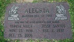 Teresa <i>Villa</i> Alegria
