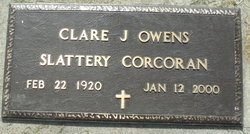 Clare J. Owens Slattery Corcoran
