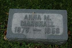 Anna M. Marshall