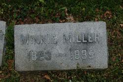 Wilhemina Minnie <i>Reichardt</i> Miller