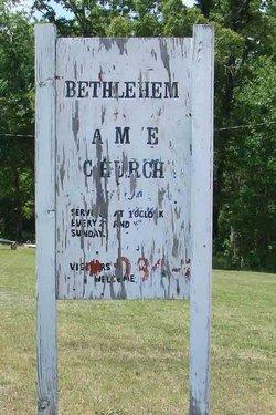 Bethlehem AME Church Cemetery