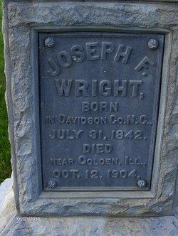 Pvt Joseph F. Wright