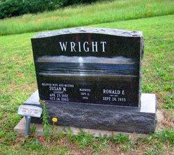 Susan M. <i>Glossop</i> Wright