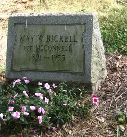 May W. <i>McConnell</i> Bickell