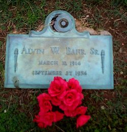 Alvin William Bahr, Sr
