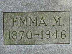 Emma M <i>Boyer</i> Buck