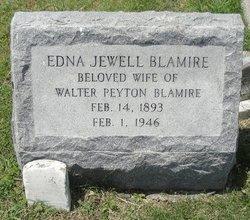 Edna <i>Jewell</i> Blamire