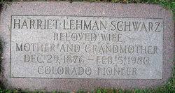 Harriet Heitler <i>Lehman</i> Schwarz