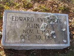 Edward Everette Bain, Jr
