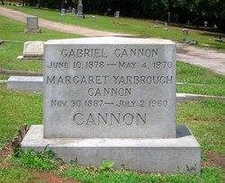 Margaret <i>Yarbrough</i> Cannon