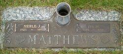 Iva May <i>Verwolf</i> Matthews