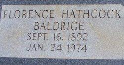 Florence <i>Hathcock</i> Baldrige