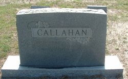 Frances Elizabeth Fannie <i>Strickland</i> Callahan