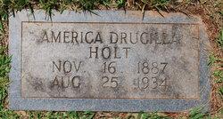America Drucilla <i>Hurt</i> Holt