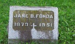 Jane <i>Barringer</i> Fonda