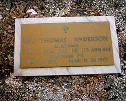 Sgt Iva Thomas Anderson