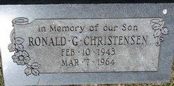 Ronald G Christensen
