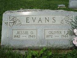 Jessie O. <i>Fultz</i> Evans