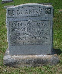 Emma <i>Phelps</i> Deakins