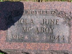Iola June McAboy
